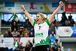 18.11.2018, Halle Berg Fidel, Muenster<br />Volleyball, Bundesliga Frauen, Normalrunde, USC MŸnster / Muenster vs. VfB Suhl Lotto ThŸringen / Thueringen<br /><br />Jubel Lisa Thomsen (#1 Muenster)<br /><br />  Foto &copy; nordphoto / Kurth