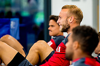 Mike van der Hoorn during the Swansea City training session at The Fairwood training Ground, Swansea, Wales, UK. Wednesday 13 September 2017