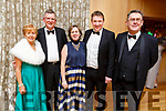 Catherine and Michael Healy, Maura and Tommy Sheehy and Sean Scally (Enable Ireland) attending the Enable Ireland Diamond Ball in the Ballygarry House Hotel on Saturday.