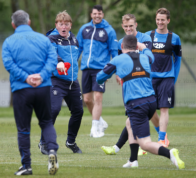 Stuart McCall and Fraser Aird