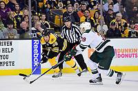 NHL 2016: Wild vs Bruins OCT 25