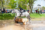 Badminton, Gloucestershire, United Kingdom, 4th May 2019, Louise Harwood riding Balladeer Miller Man during the Cross Country Phase of the 2019 Mitsubishi Motors Badminton Horse Trials, Credit:Jonathan Clarke/JPC Images