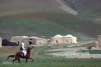 Villager riding