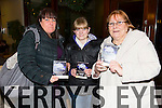 Yvonne Colloff, Louise Colloff, Maureen Workman at the St. Pats Blennerville Strictly come Dancing fundraiser at Ballyroe Heights Hotel on Friday