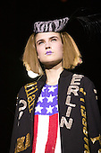 February 2009. London Fashion Week. Collection by Indian designer Ashish
