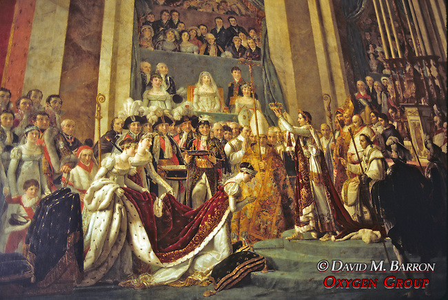 Versailles Painting The Coronation of Josephine- Jacques Louis David
