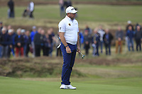Lee Westwood (ENG) on the 3rd green during Round 2 of the Sky Sports British Masters at Walton Heath Golf Club in Tadworth, Surrey, England on Friday 12th Oct 2018.<br /> Picture:  Thos Caffrey | Golffile<br /> <br /> All photo usage must carry mandatory copyright credit (&copy; Golffile | Thos Caffrey)