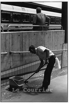 Genève, le 07.1993..© Interfoto
