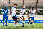 Chelsea Forward Alvaro Morata (R) during a ICC Singapore Training Session on July 28, 2017 in Singapore. Photo by Marcio Rodrigo Machado / Power Sport Images