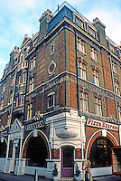 London: Pizza Express, Little Russell St., Bloomsbury.