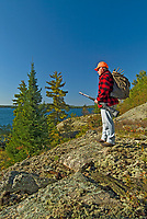 Hunter on Crow (Kakagi) Lake<br />