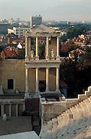 Bulgarien, Plovdiv, römisches Theater