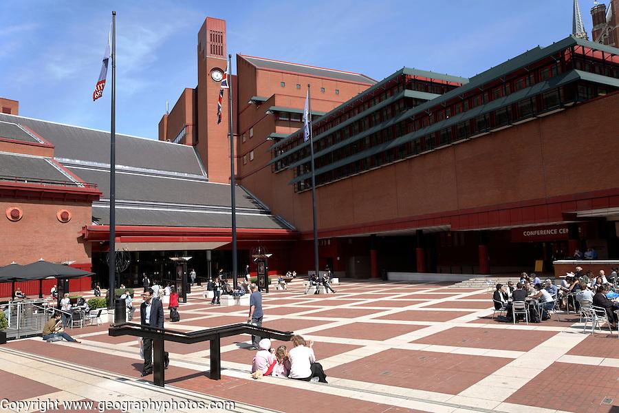 British Library exterior London
