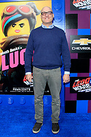 "LOS ANGELES - FEB 2:  Mike Mitchell at ""The Lego Movie 2: The Second Part"" Premiere at the Village Theater on February 2, 2019 in Westwood, CA"
