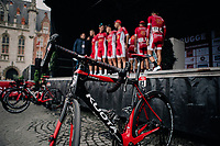 Team Cofidis pre race team presentation<br /> <br /> 2nd Elfstedenronde 2018<br /> 1 day race: Brugge - Brugge 196.3km