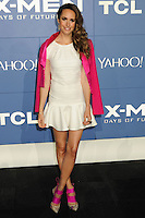 """NEW YORK CITY, NY, USA - MAY 10: Louise Roe at the World Premiere Of Twentieth Century Fox's """"X-Men: Days Of Future Past"""" held at the Jacob Javits Center on May 10, 2014 in New York City, New York, United States. (Photo by Celebrity Monitor)"""