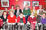 Listowel friends celebrating Women's Christmas at Fitzgerald's Restaurant, Listowel on Friday night last. Front : Mairead Harnett, Mary Somers, Helen Keane, Margaret Kelliher & Betty Woulfe. Back : Noreen Flavin, Linda Keane, Maureen O'Carrroll, Imelda Murphy, Mary Lynch & Margaret Browne.