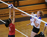 Country Day defeats St. Martin's 3-0 in girl's volleyball action at Country Day.