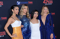 """LOS ANGELES - AUG 13:  Corinne Foxx, Sistine Rose Stallone, Brianne Tju, Sophie Nelisse at the """"47 Meters Down: Uncaged"""" Los Angeles Premiere at the Village Theater on August 13, 2019 in Westwood, CA"""