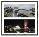 MSC Cruises Celebrations on Sydney Harbour for the inaugural visit of a MSC cruise ship.