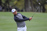 Lucas Bjerregaard (DEN) hits his approach shot on 1 during day 5 of the WGC Dell Match Play, at the Austin Country Club, Austin, Texas, USA. 3/31/2019.<br /> Picture: Golffile | Ken Murray<br /> <br /> <br /> All photo usage must carry mandatory copyright credit (&copy; Golffile | Ken Murray)