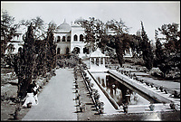 BNPS.co.uk (01202 558833)<br /> Pic: CanterburyAuctionGalleries/BNPS<br /> <br /> Kaiserbagh located in Lucknow.<br /> <br /> A Scottish photographer's stunning collection of photos of India and Afghanistan in the 1880s have been unearthed after 130 years.<br /> <br /> G.W Lawrie set up a studio in Lucknow, northern India in the 1880s and took captivating black and white photos of his new surroundings.<br /> <br /> Included in the collection of 40 photos are views of lavish temples including the King of Oudh's palace in Lucknow, opulent buildings and beautiful scenery.<br /> <br /> However, Lawrie was also interested in the native population and took photos of them going about their everyday lives.
