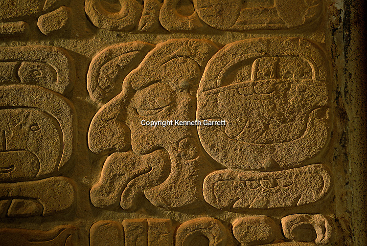 Ancient Cultures; Americas; Maya; Palenque; Mexico; Chiapas; Glyphs; Archaeology