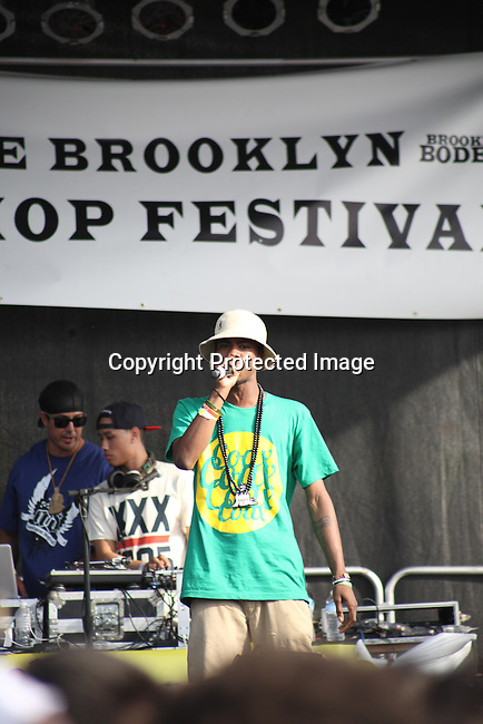 """Chuuwee Performs at the Final Day of 2012 Brooklyn Festival """"Busta Rhymes & Friends"""" Held at the Brooklyn Bridge Park, NY 7/14/12"""