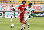 La Equidad derroto a 2x1 a los Patriotas en la liga  postobon torneo finalizacion del futbol Colombiano