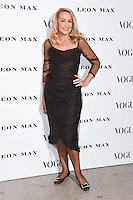 Jerry Hall<br /> at the Vogue 100: A Century of Style exhibition opening held in the National Portrait Gallery, London.<br /> <br /> <br /> ©Ash Knotek  D3080 09/02/2016
