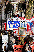 27.02.2014 - Save the NHS  Demo Outside Downing Street