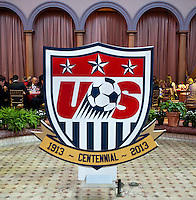 US Soccer held their Centennial Gala at the National Building Museum in Washington DC.
