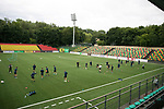 FK Trakai v St Johnstone&hellip;05.07.17&hellip; Europa League 1st Qualifying Round 2nd Leg<br />St Johnstone training at the LFF Stadium in Vilnius, Lithuania pictured during the session<br />Picture by Graeme Hart.<br />Copyright Perthshire Picture Agency<br />Tel: 01738 623350  Mobile: 07990 594431