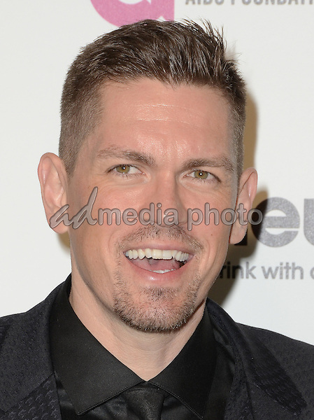 28 February 2016 - West Hollywood, California - Steve Howey. 24th Annual Elton John Academy Awards Viewing Party sponsored by Bvlgari, MAC Cosmetics, Neuro Drinks and Diana Jenkins held at West Hollywood Park. Photo Credit: Birdie Thompson/AdMedia