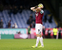 Burnley's Chris Wood looks dejected at the final whistle<br /> <br /> Photographer Rich Linley/CameraSport<br /> <br /> The Premier League - Burnley v Crystal Palace - Saturday 30th November 2019 - Turf Moor - Burnley<br /> <br /> World Copyright © 2019 CameraSport. All rights reserved. 43 Linden Ave. Countesthorpe. Leicester. England. LE8 5PG - Tel: +44 (0) 116 277 4147 - admin@camerasport.com - www.camerasport.com
