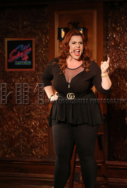 Alysha Umphress during the Press Preview Presentation for the new production of 'Smokey Joe's Cafe' at Feinstein's/54 Below on June 27, 2018 in New York City.