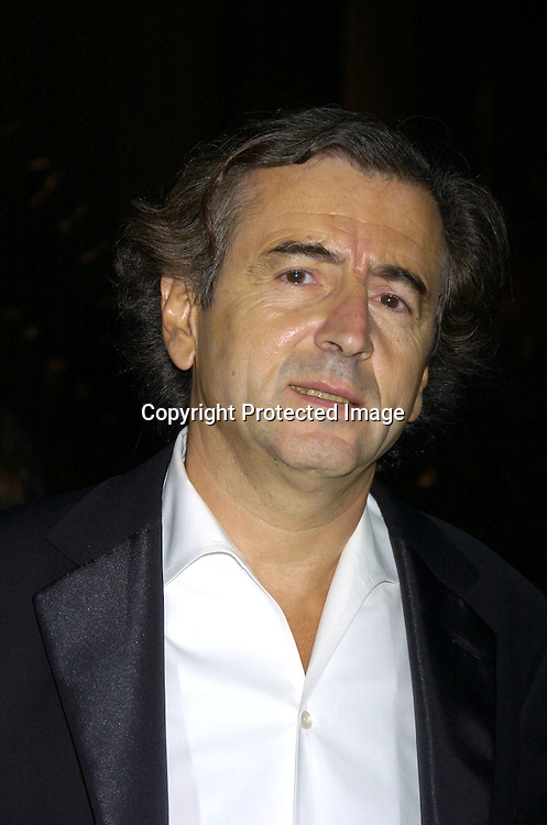 Bernard-Henry Levy ..at the 2005 Pen Montblanc Literary Gala at The American Museum of Natural History on April 20, 2005. The Gala honors domestic and international champions of free expression with the Freedom of Expression Awards. ..Photo by Robin Platzer, Twin Images..