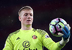 Sunderland's Jordan Pickford in action during the Premier League match at the Emirates Stadium, London. Picture date: May 16th, 2017. Pic credit should read: David Klein/Sportimage