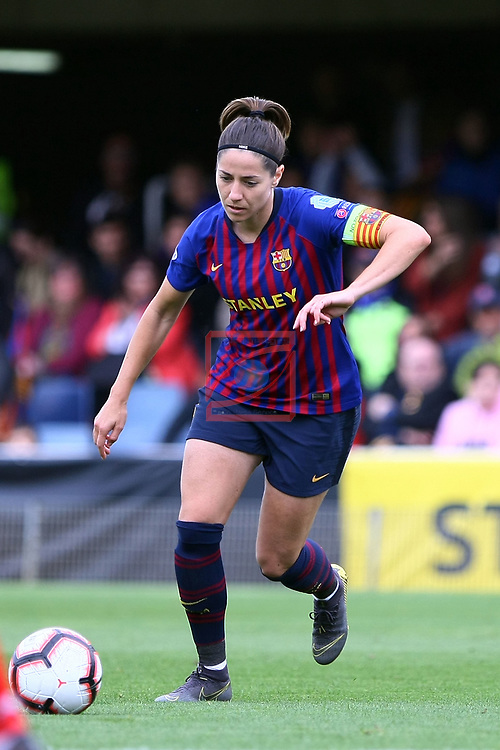 UEFA Women's Champions League 2018/2019.<br /> Semi Finals<br /> FC Barcelona vs FC Bayern Munchen: 1-0.<br /> Vicky Losada.