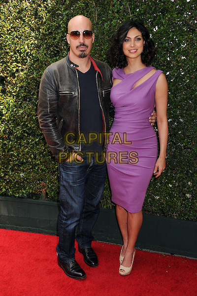 13 April 2014 - West Hollywood, California - Austin Chick, Morena Baccarin. John Varvatos' 11th Annual Stuart House Benefit held at John Varvatos Boutique. <br /> CAP/ADM/BP<br /> &copy;Byron Purvis/AdMedia/Capital Pictures