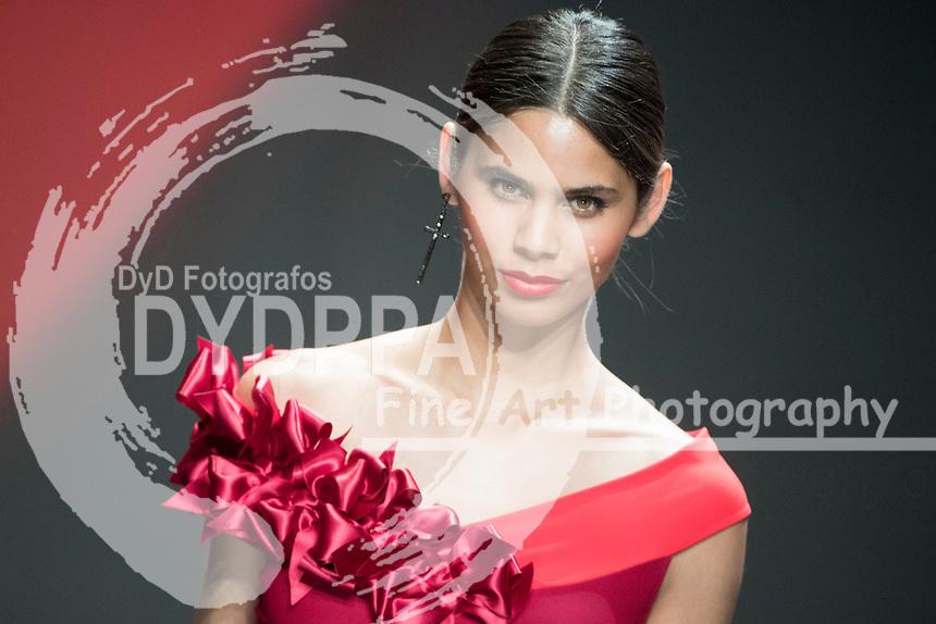 Model Kelie Santos poses