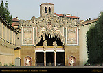 Grotto of Buontalenti Facade Palazzo Pitti Florence