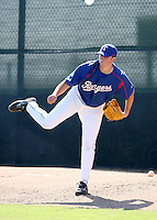 Matt Thompson / Texas Rangers 2008 Instructional League..Photo by:  Bill Mitchell/Four Seam Images
