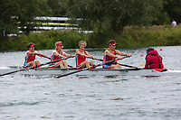 Race: 83  W.MasD/E.4+  Final<br /> <br /> Peterborough Summer Regatta 2018 - Sunday<br /> <br /> To purchase this photo, or to see pricing information for Prints and Downloads, click the blue 'Add to Cart' button at the top-right of the page.