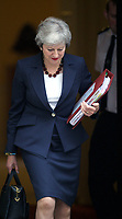 OCT 13 Theresa May  leaves Downing Street