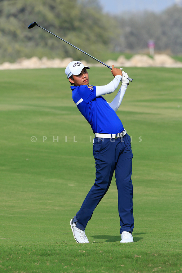 Phachara Khongwatmai (THA) during the second round of the Commercial Bank Qatar Masters played at Doha Golf Club, Qatar. 23/02/2018<br /> Picture: Golffile | Phil Inglis<br /> <br /> <br /> All photo usage must carry mandatory copyright credit (&copy; Golffile | Phil Inglis)