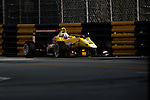 Antonio Giovinazzi races the Formula 3 Macau Grand Prix during the 61st Macau Grand Prix on November 14, 2014 at Macau street circuit in Macau, China. Photo by Aitor Alcalde / Power Sport Images