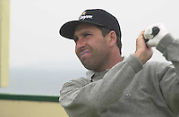 IRISH OPEN BALLYBUNION WEDNESDAY...Jose Maria Olazabal pictured taking part in the Murphys Irish Open Pro-Am at Ballybunion on Wednesday..Picture by Don MacMonagle
