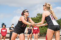 Stanford Beach Volleyball vs Cal Poly, April 20, 2019