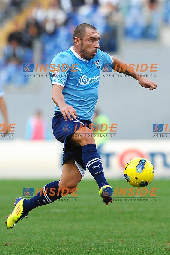 """Cristian BROCCHI Lazio.Roma 6/11/2011 Stadio """"Olimpico"""".Football Calcio Serie A 2011/2012 .Lazio Vs Parma.Foto Insidefoto Andrea Staccioli"""